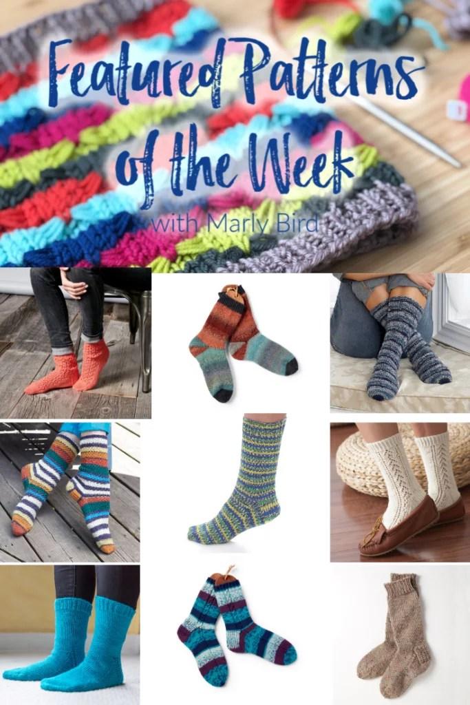 Knit Socks 10 FREE knit sock patterns from Yarnspirations