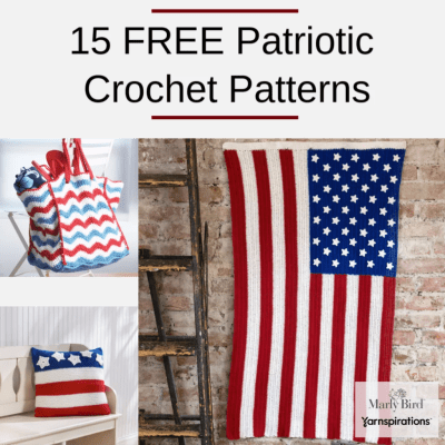 15 FREE Patriotic Crochet Patterns