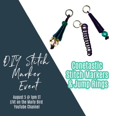 DIY Stitch Markers and Jump Rings