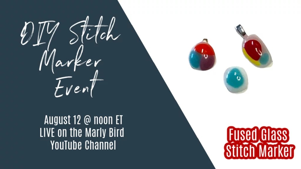 DIY Fused Glass Stitch Markers