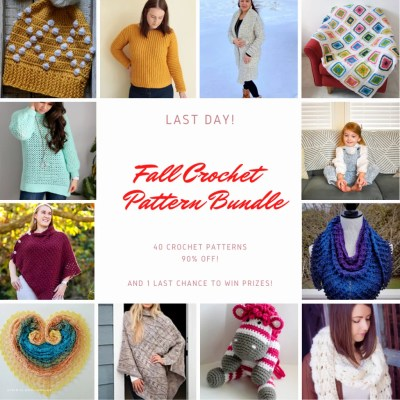 FINAL DAYS of Fall Crochet Bundle || 40 Premium Crochet Patterns