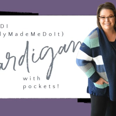 Perfect for Fall: Pocket Cardigan Free Knit Pattern