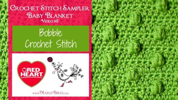 Bobble Crochet Stitch Marly Bird