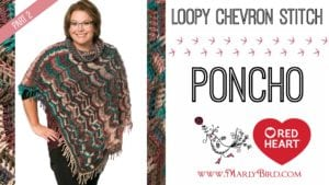 Marly Bird 2016 Crochet Along-Popular Poncho Part 3