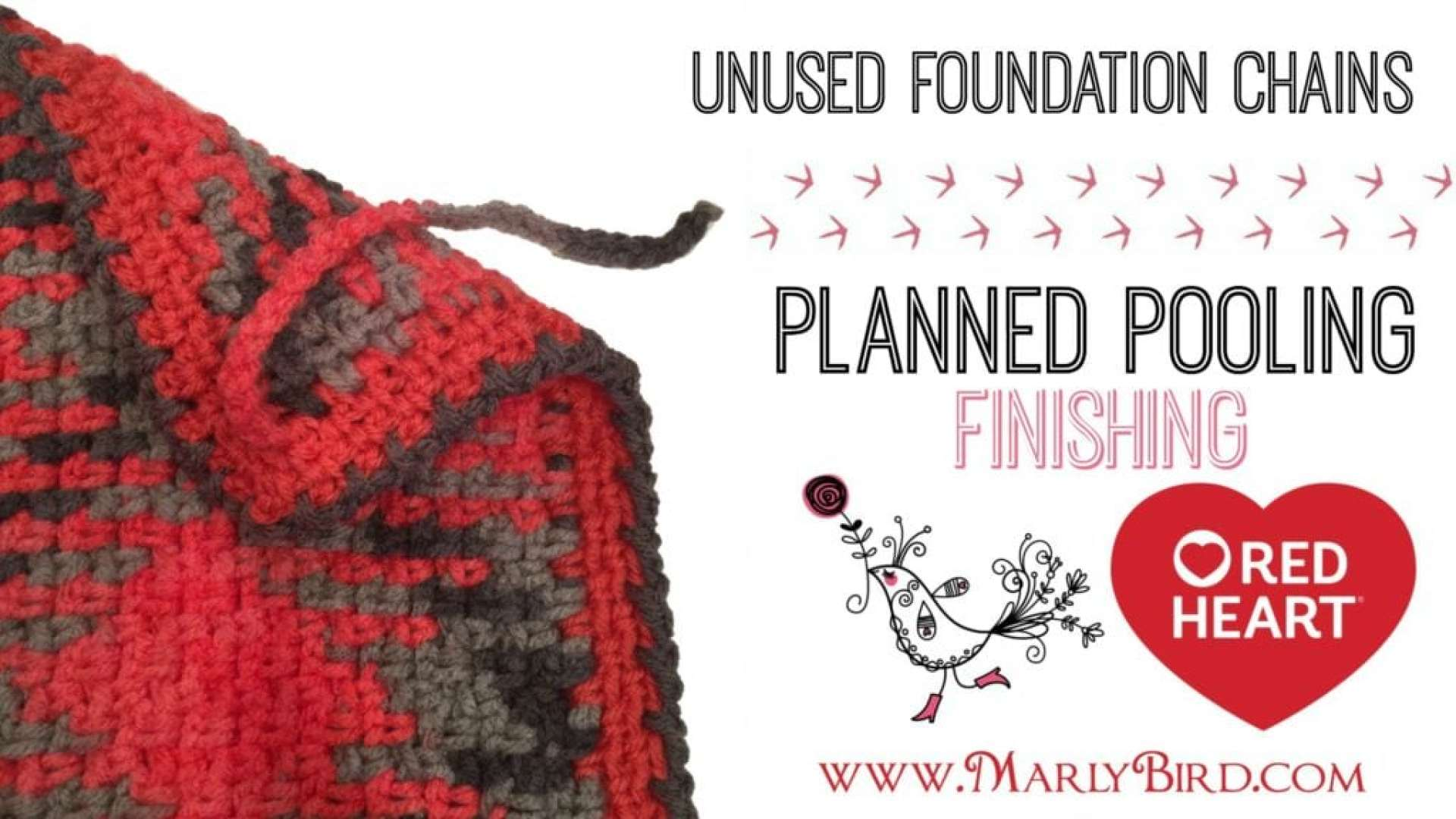 Planned Pooling Crochet Finishing Starting Chains with Marly Bird