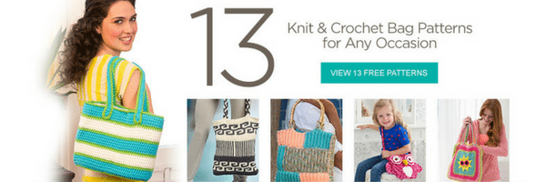 Red Heart Free Knit & Crochet Bag Patterns