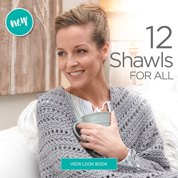 Red Heart Shawls for All eBook