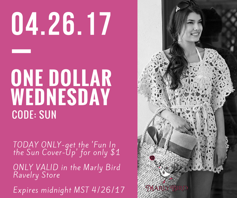 $1 Wednesday Fun in the Sun Cover-up