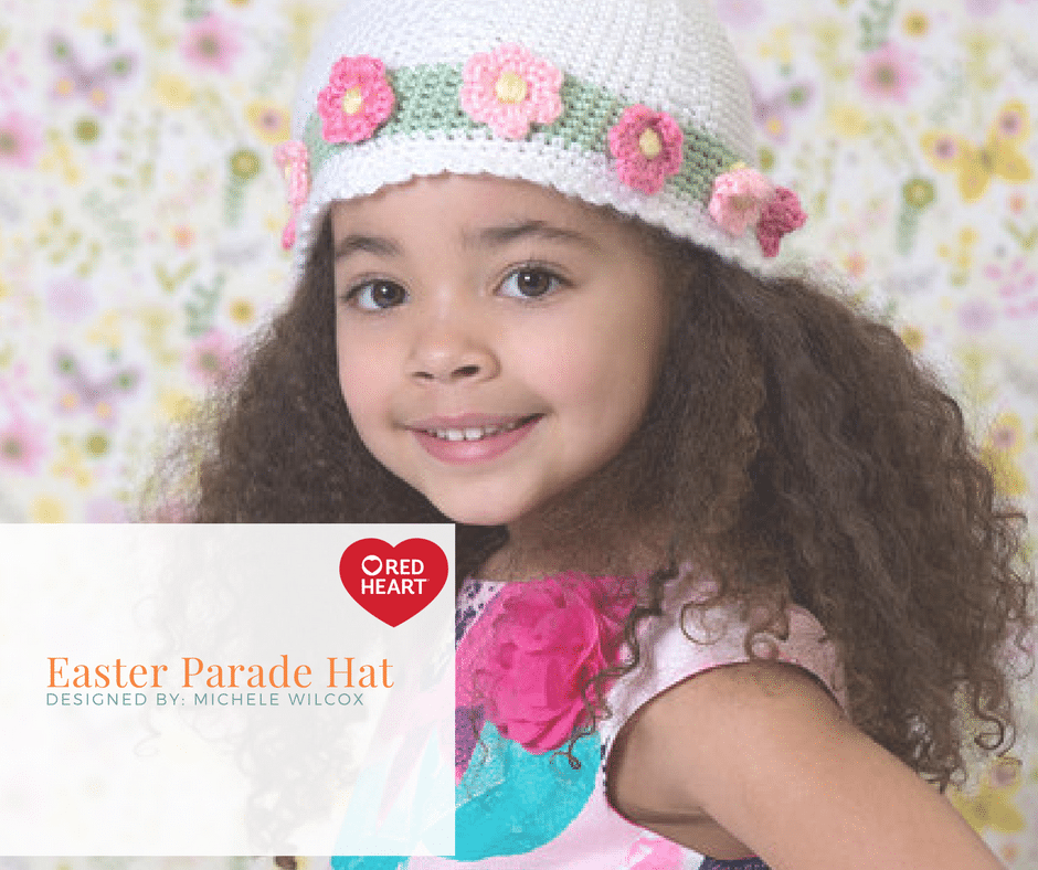 Red Heart Easter Parade Hat