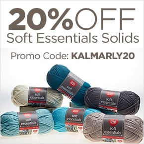 20% off Red Heart Soft Essentials Solids