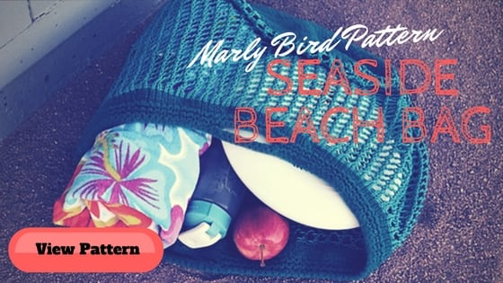 Seaside Beach Bag Knit pattern by Marly Bird