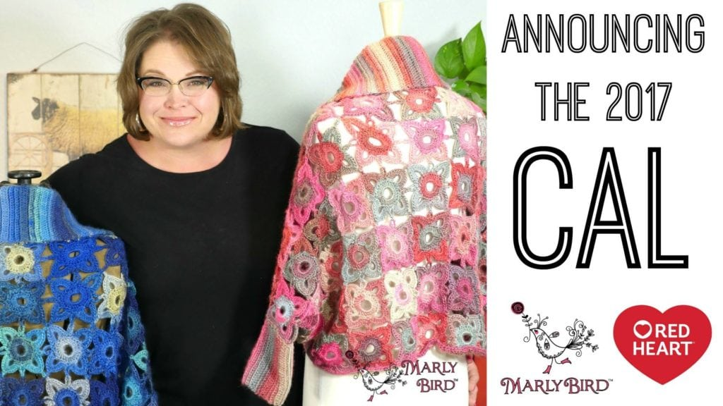 Announcing the 2017 Crochet Along with Marly Bird and Red Heart