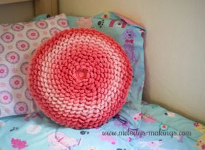 Netherlee Flower Pillow by Melody Rodgers