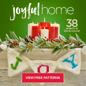 Red Heart Joyful Home Patterns