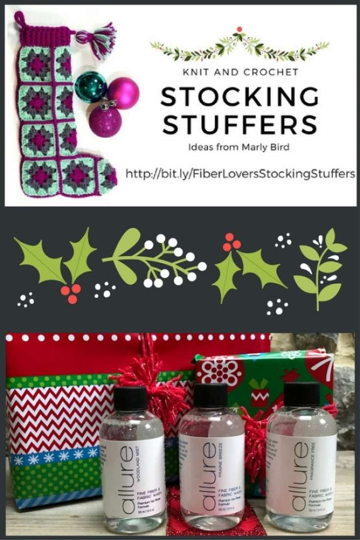 Knit and Crochet Gift Ideas with Allure Fiber Wash