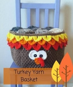 Turkey Yarn Basket