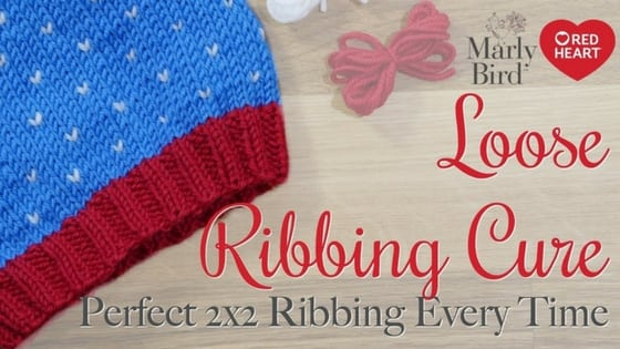 Video Tutorial: How to Avoid Loose Ribbing