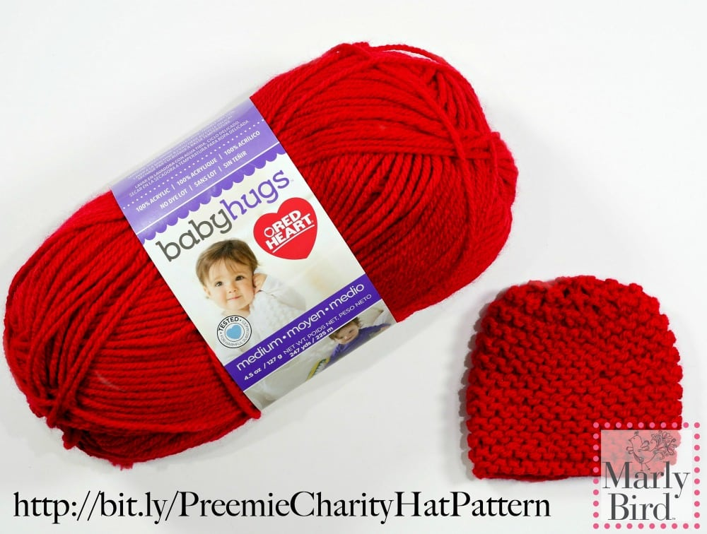 Free Beginner Preemie Hat Pattern For Charity Marly Bird