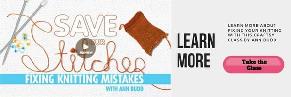 Save our Stitches Class from Craftsy