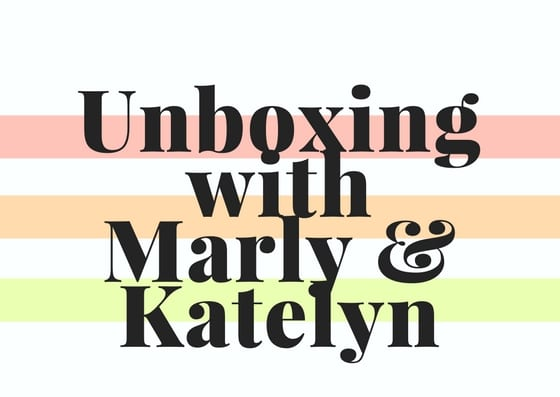 LIVE Unboxing with Marly and Katelyn