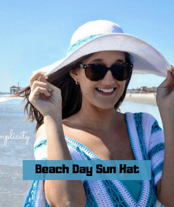 Beach Day Sun Hat