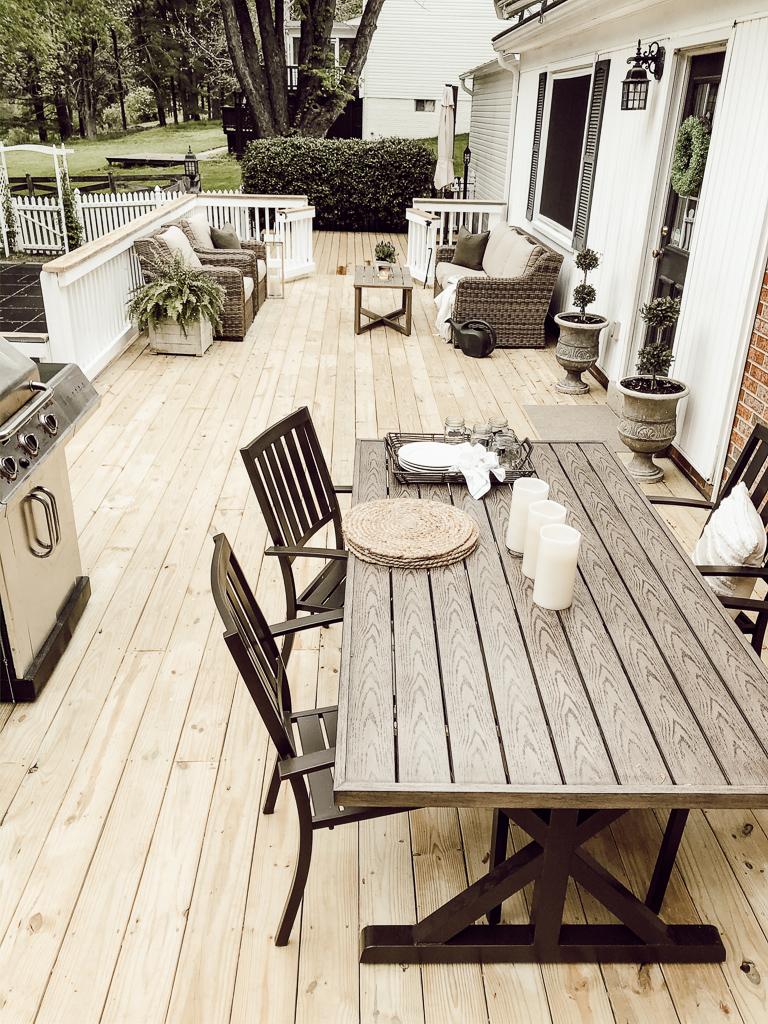 patio furniture outdoor summer decor