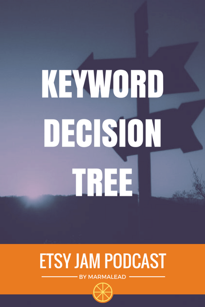 So, you're working on your SEO and you found a keyword. Is it a good keyword? Will it work for you? Will it end up with sales? In this episode, Gordon and Richie walk you through Marmalead's Keyword Decision Tree and show you 6 steps you can follow to decide if a keyword will work for you.