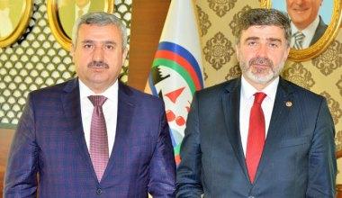 Başkan Baran Kocaeli Milletvekili Sami Çakır'ı Ağırladı