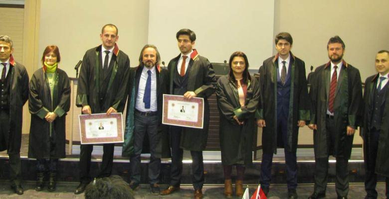 Hasan Yaşa ve Cemal Kamışoğlu avukatlık ruhsatlarını aldılar