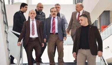Vali Coş'tan Başkan Öztürk'e ziyaret