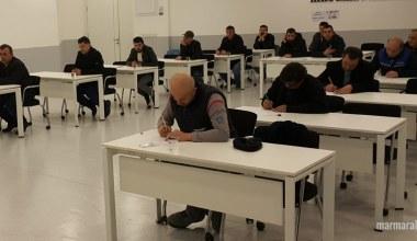 İlk mesleki yeterlilik sınavı SATSO'da yapıldı