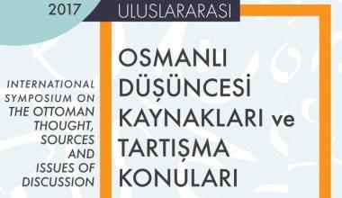 """SAÜ'de """"Osmanlı Düşüncesi Kaynakları ve Tartışma Konuları"""" sempozyumu düzenlenecek"""