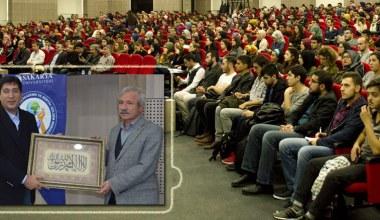 SASGEM Çarşamba Konferanslarının konuğu Mehmet Doğan oldu