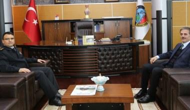 İl Jandarma Komutanı Yiğit'ten Başkan Alemdar'a İade-i Ziyaret