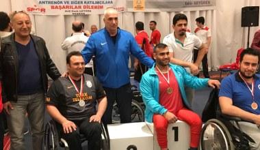 Bedensel Engelli Halterciler Konya'dan 6 madalya ile döndü