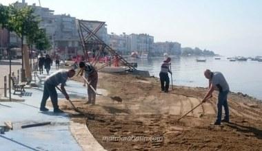 Bursa'da sahiller artık daha temiz