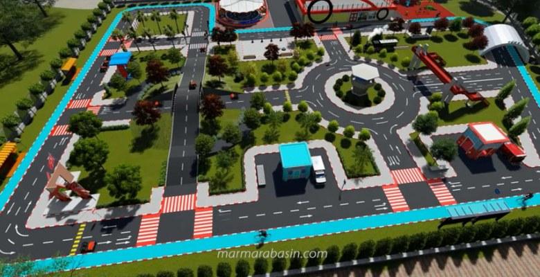 Trafik Eğitim Parkı'nın yapımına başlandı