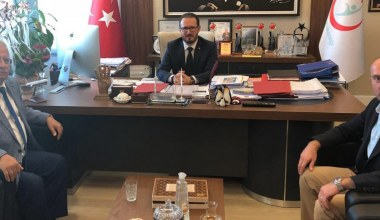 Rektör Özdemir'den Sağlık Bakanlığına Ziyaret