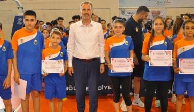 İnegöl'de Yaz Spor Okulunda İkinci Dönem Sona Erdi