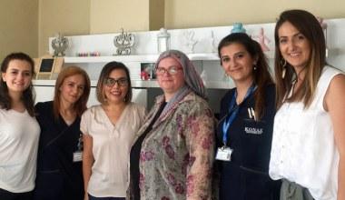 Hastalar Evlerinde Ziyaret Ediliyor
