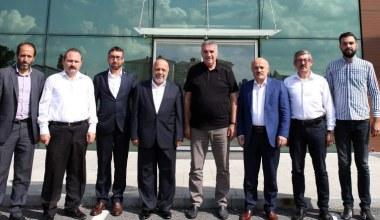 Toçoğlu Genel Başkan Arslan'ı ağırladı