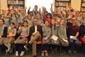 Tuğrul Tülek'ten öğrencilere Sevgi Soysal öyküleri