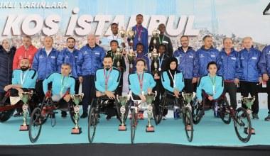 40. İstanbul Maratonu'nda rekor kırıldı
