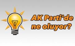 AK Parti'de ne oluyor?