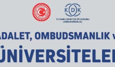 'Adalet Ombudsmanlık ve Üniversiteler' Semineri