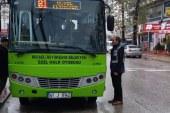 Kış günlerinde otobüslere sıkı denetim