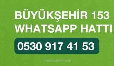 Büyükşehir, 'WhatsApp'ta da varım' dedi