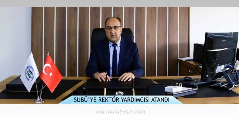 SUBÜ rektör yardımcılığına Prof.Dr. Ali Fuat Boz atandı