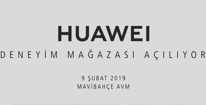 HUAWEI Tüketici Elektroniği Grubu'nun ilk deneyim mağazası İzmir'de açılıyor