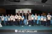 Başkan Sakallıoğlu öğrencilerle bir araya geldi.